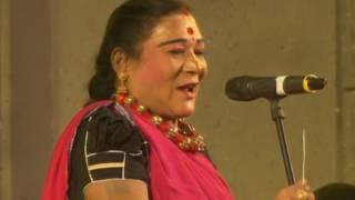 Bhairavnath Mahotsav_Teejan Bai Pandvani performance (Part I) in Chandankyari, Jharkhand