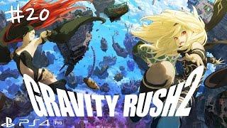 [PS4 PRO] 그래비티 러쉬 2 한국어 스토리 플레이 및 공략 #20 에피소드 18 두 천사 1080p - PS4 Pro Gravity Rush 2 1080p