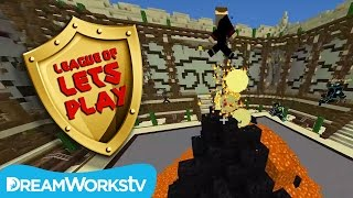 FinsGames Plays Minecraft: Master Builders | LEAGUE OF LET'S PLAY