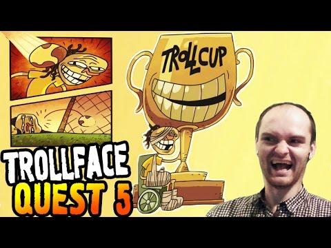 TrollFace Quest 5 Прохождение ► КУБОК ТРОЛЛИНГА ◄ ВЗРЫВ МОЗГА