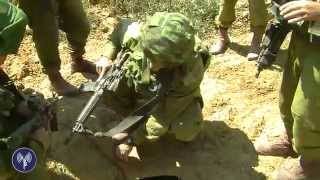 Paratroopers Uncover Tunnel & Concealed Rocket Launcher
