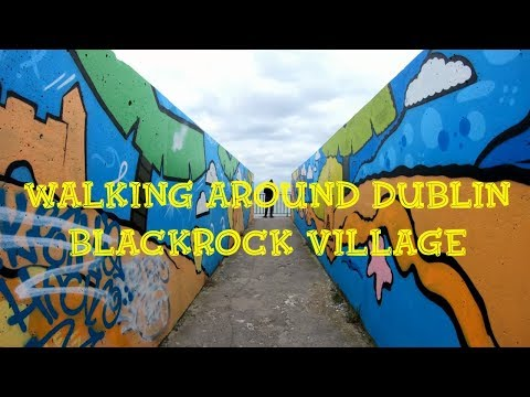 Walking Around Dublin. Blackrock Village Dublin Ireland. Дублин, Ирландия. ORANGE Ua