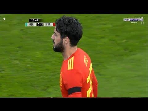 Isco Alarcon vs Germany Friendly (24/03/2018) 1080i