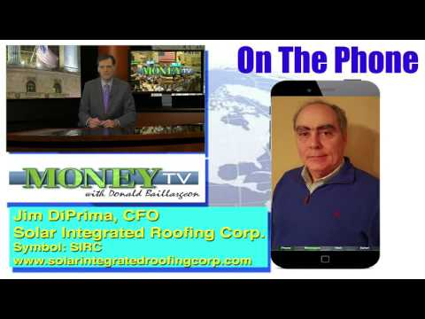 Solar Integrated Roofing Corporation- MoneyTV with Donald Baillargeon