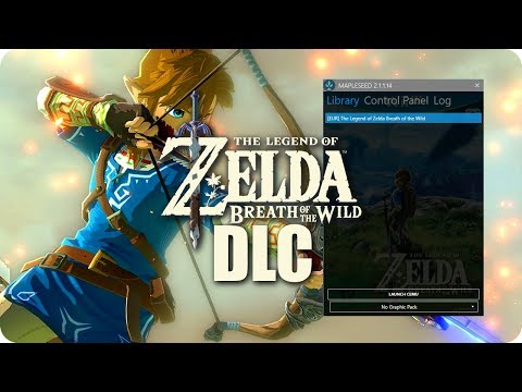 How To DOWNLOAD & INSTALL DLC Zelda BoTW on PC | MapleSeed CEMU