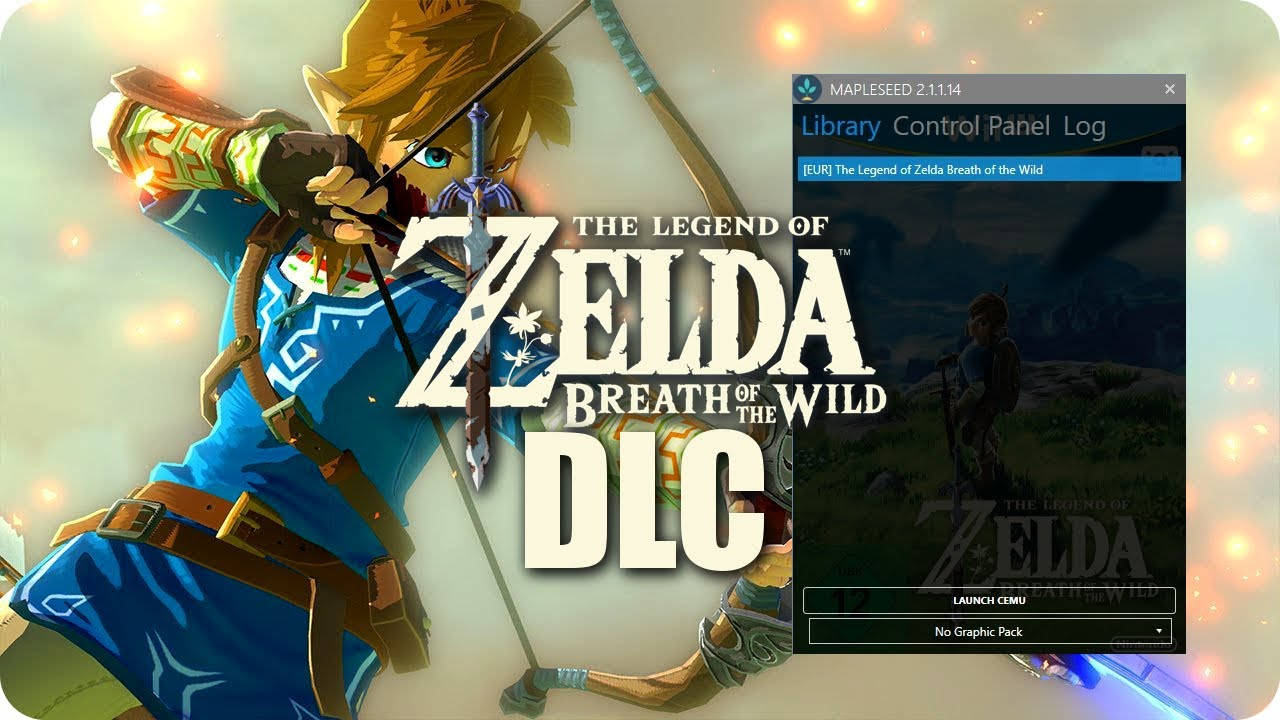 How To DOWNLOAD & INSTALL DLC Zelda BoTW on PC | MapleSeed CEMU Tutorial
