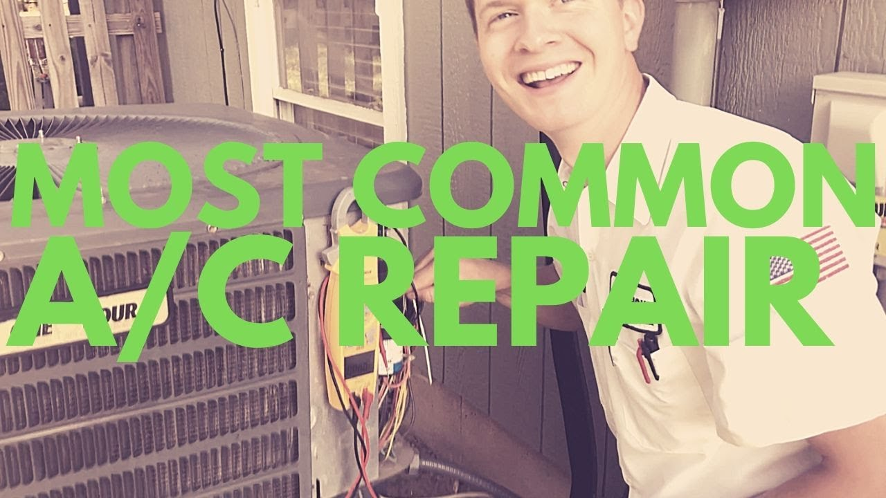 Most Common Air Conditioner Problems  Bad Capacitor Common