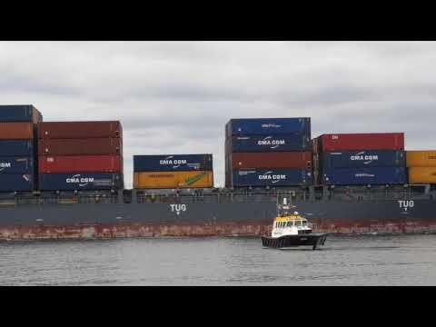 Container Shipping in Dublin