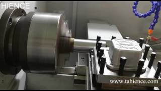 China metal horizontal CNC lathe machine
