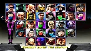 Mortal Kombat Trilogy - Playthrough 2/2 (PSX)