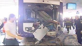 Accident de train en Argentine