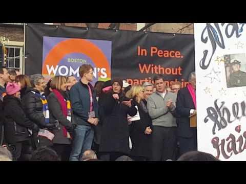 Senator Ed Markey at the Boston Women