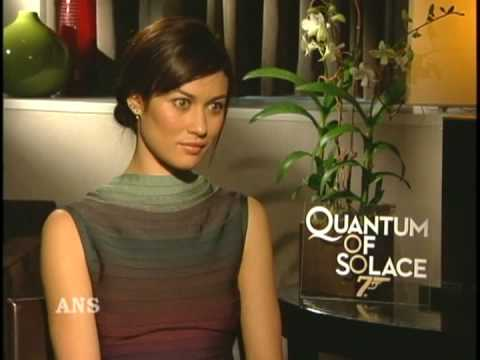 OLGA KURYLENKO ANS INTERVIEW FOR JAMES BOND QUANTUM OF SOLACE