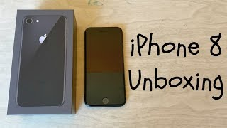 iPhone 8 256gb Space Gray Unboxing