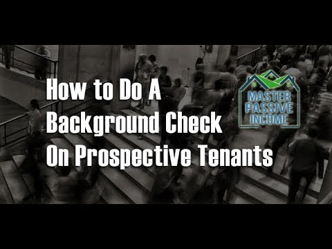 How To Do A Background Check on a Tenant and get 10% off