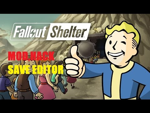 Fallout Shelter PC Save Editor Cheat, Hack, Mod