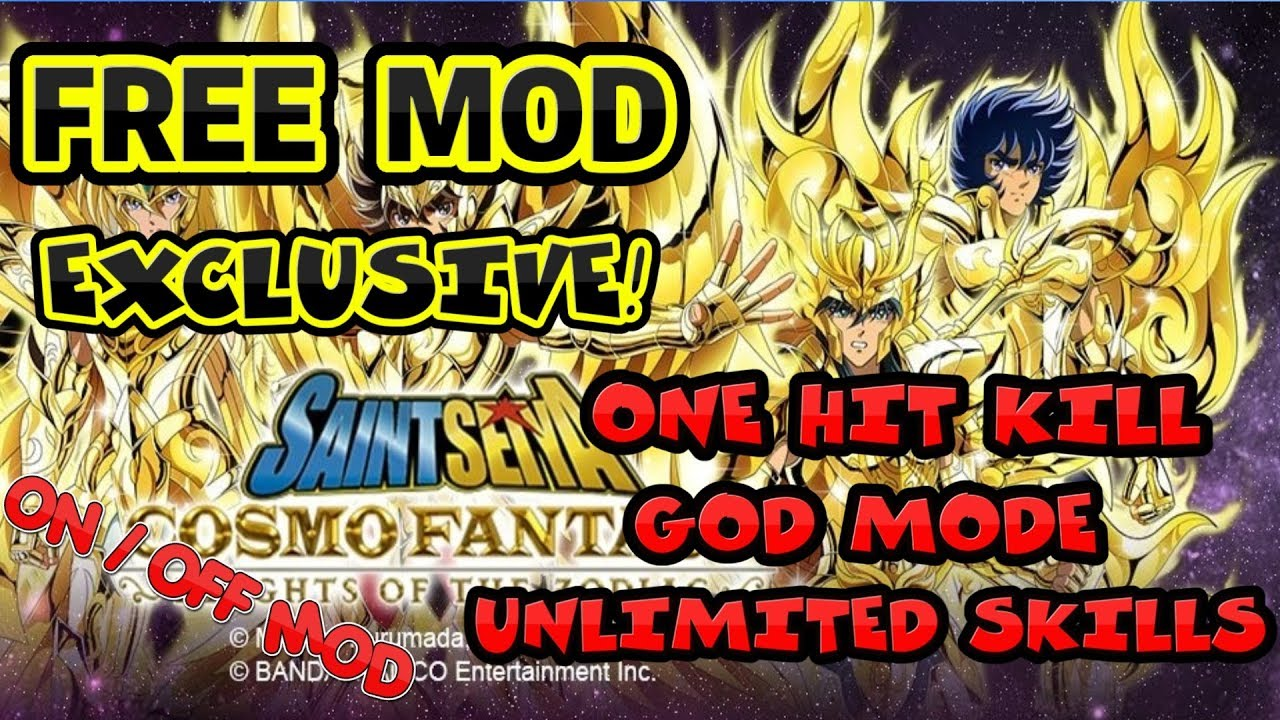 SAINT SEIYA COSMO FANTASY Ver. 1.61 FREE MOD APK | One Hit Kill | God Mode | Unlimited Skills  #Smartphone #Android