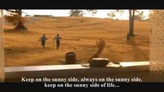 Keep on the sunny side with lyrics