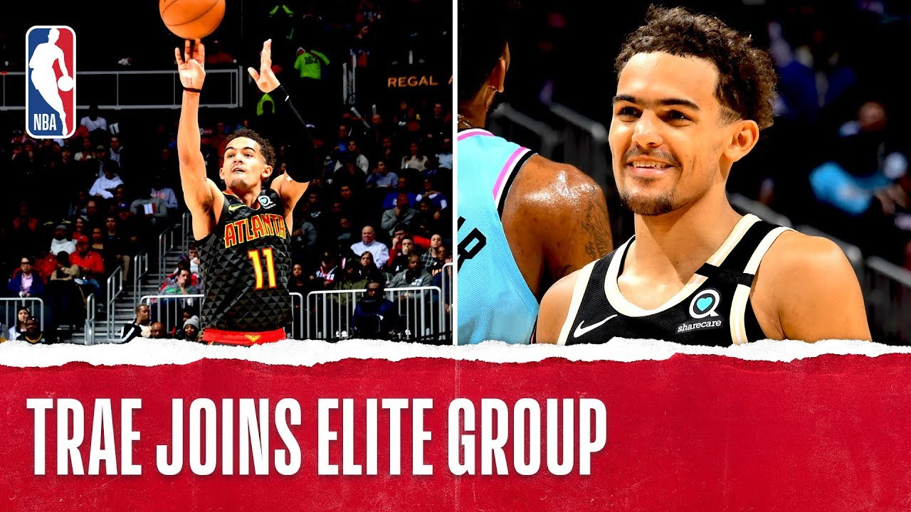Trae Young In Rare Company With 10 40-Point Games