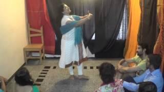 Main Neer Bhari Dukh Ki Badli- Nivedita Sarkar in AVITOKO Room Theatre