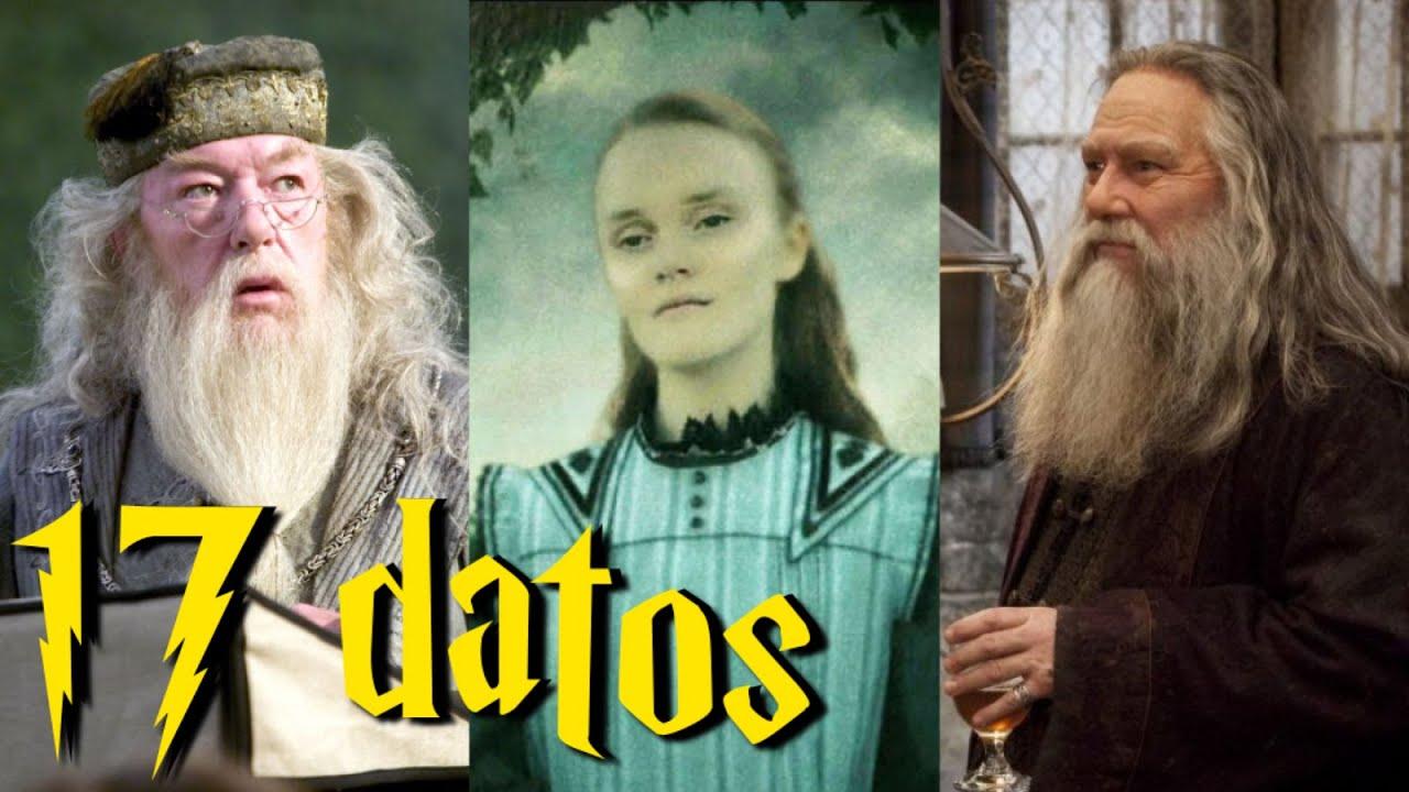 17 datos de la familia Dumbledore
