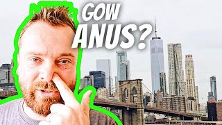 SCOTTISH GUY PRONOUNCING NEW YORK NEIGHBORHOODS