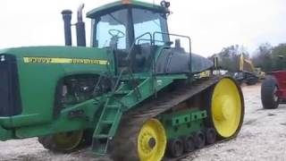 John Deere 9300T track tractor for auction