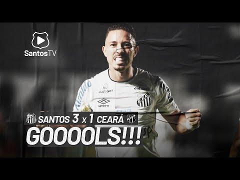 SANTOS 3 X 1 CEARÁ | GOLS | BRASILEIRÃO (05/06/21)