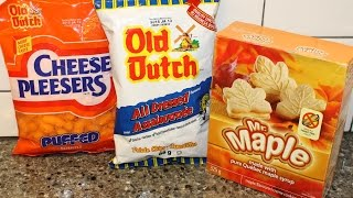 From Canada Part Ii: Old Dutch Cheese Pleesers & All Dressed Potato Chips & Mr. Maple Creme Cookies