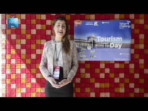 Ieva Strupule talks about the energy of Lisbon Challenge's start-ups | LC Tourism Day