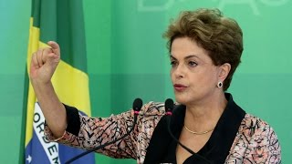 Brazilian President Suspended After Impeachment Vote