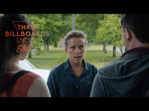 "Three Billboards Outside Ebbing, Missouri | ""Who Threw That Can"" Clip"