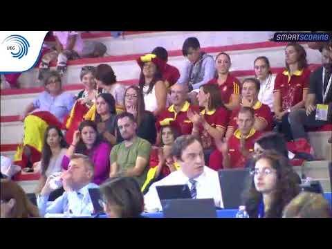Spain - 2017 Aerobics Europeans, junior group final