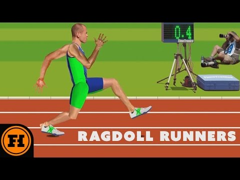Let\'s Play - Ragdoll Runners Starring Funhaus