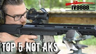 Top 5 Guns That are Not AKs