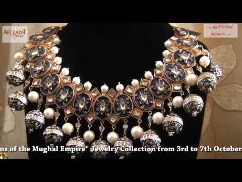 "Art Karat presents ""Begum-Queens of the Mughal Empire"" Jewelry Collection at Hotel Taj Deccan"