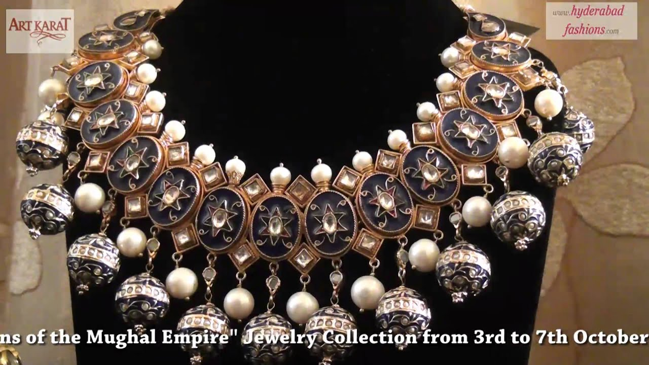 Mughal jewellery designs related keywords mughal for Indian jewelry queens ny