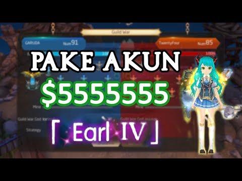 GUILD WAR PAKE AKUN SULTAN 500JUTA ♥ - LAPLACE M