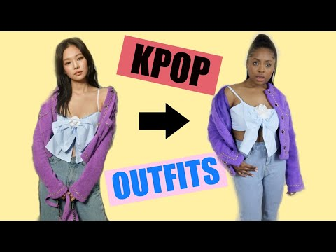 DRESSING LIKE KPOP IDOLS