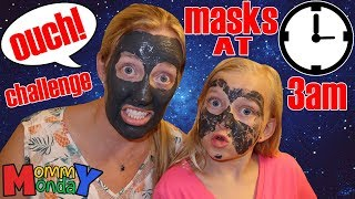 Girls Night Out Gone Wrong! Face Mask Burns My Face on Road Trip!!    Mommy Monday 3 AM Challenge