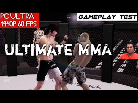 Ultimate MMA Gameplay PC Ultra 1440p GTX 1080Ti i7 4790K Test Indonesia - 동영상