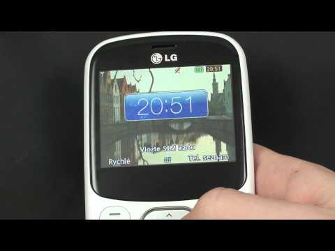 LG C320 Town - prostředí
