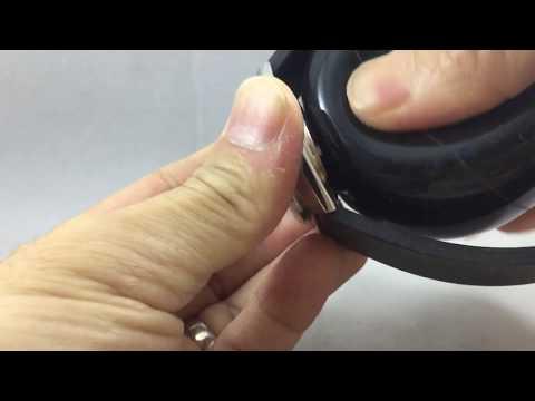 瑞士 Bergeon 8008 後底蓋 開錶球 使用示範