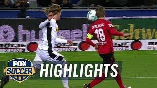 Sc Freiburg Vs. Monchengladbach   2017-18 Bundesliga Highlights