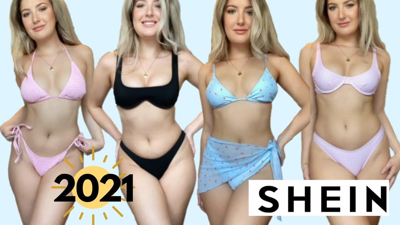 SHEIN BIKINI TRY ON HAUL- SUMMER 2021