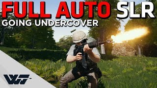 FULL AUTO SLR - Undercover pretending to be a hacker! - PUBG