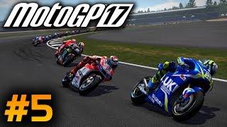 MotoGP 17 Career Mode Part 5: Moto 3 - WET RACES!! (Rider Career Mode 2017 PS4 Gameplay)