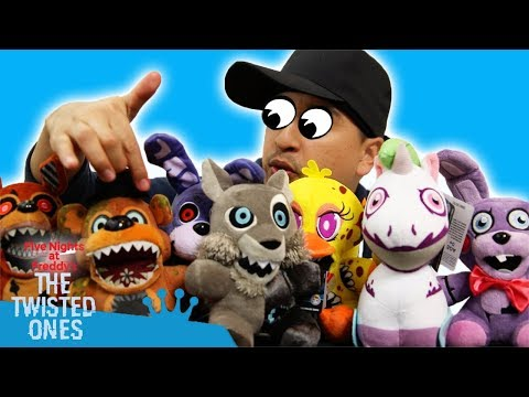FNAF TWISTED ONES PLUSH REVIEW!!!!