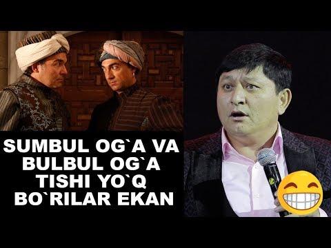 Avaz Oxun - Sumbul og`a va Bulbul og`a tishi yo`q bo`rilar ekan | Yangisi 2019