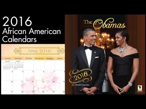 2016 Calendars by African American Expressions